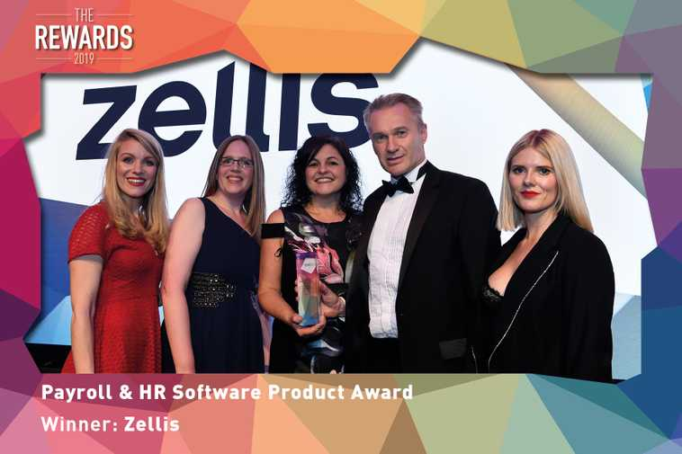 Zellis picks up Payroll and HR Software Product Award at The Rewards 2019